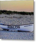 Avalon Lifeboat Metal Print