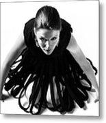 Avant Garde Fashion Metal Print