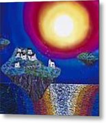 Avatar Island Housing Metal Print