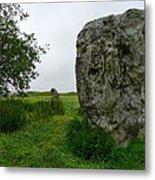 Avebury Megalith Metal Print