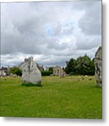 Avebury Stones Metal Print