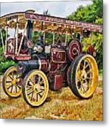 Aveling And Porter Showmans Tractor Metal Print
