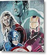 Avengers Metal Print by Jeremy Moore