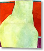 Avery Style Pear Art Metal Print