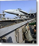 Aviation Boatswains Mate Launches An Metal Print