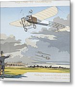 Aviation Meeting At Champagne Metal Print