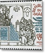 Avicenna, (ibn-sina) Metal Print