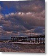 Avon Pier 3 3/04 Metal Print