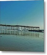 Avon Pier Reflection 39 10/2 Metal Print