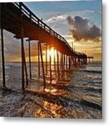 Avon Pier Sunrise 5 8/06 Metal Print