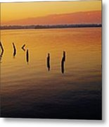 Awaiting The Sun's Return Metal Print