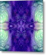 Awakening Spirit - Pattern Art By Sharon Cummings Metal Print