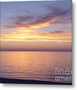 Awesome Afterglow Metal Print