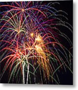 Awesome Fireworks Metal Print by Garry Gay