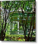 Awesome Victorian Porch Metal Print