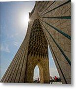 Azadi Tower  Tehran  Iran Metal Print