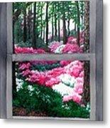 Azalea Bowl Overlook Gardens Metal Print
