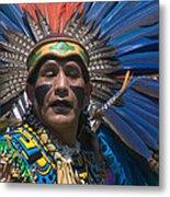 Aztec Dance Metal Print
