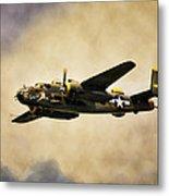 B-25 Georgie's Gal Metal Print by Peter Chilelli