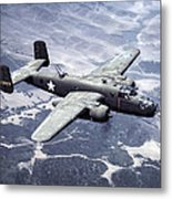 B-25 World War II Era Bomber - 1942 Metal Print