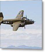 B-25j Mitchell Metal Print