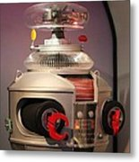B-9 Robot From Lost In Space Metal Print