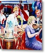 B05. The Drummer Metal Print