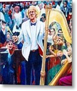 B07. The Singer And Conductor Metal Print