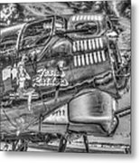 B17 Texas Raiders V14c Metal Print