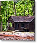 Babcock Cabin Metal Print