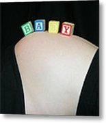 Baby Blocks Color 2 C Metal Print