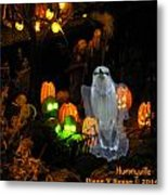 Baby Boo The Ghost Metal Print