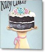 Baby Cakes Metal Print