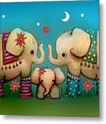 Baby Elephant Metal Print by Karin Taylor