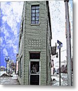 Baby Flatiron In River Rouge Metal Print by MJ Olsen