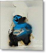 Baby Smurf Metal Print