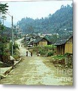 Bac Ha Town Metal Print