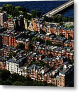 Back Bay Metal Print