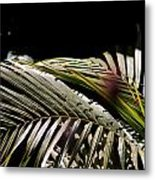 Back Bend Re-leaf Metal Print