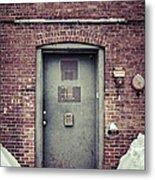 Back Door Alley Way Metal Print