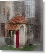 Back Door To The Castle Metal Print