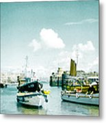 Back In The Olden Days Metal Print