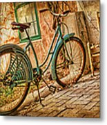 Back Patio Metal Print by Nikolyn McDonald