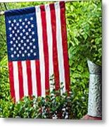 Back Porch Americana Metal Print