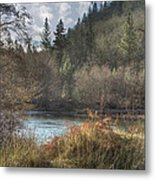 Back Roads Of Washington I Metal Print
