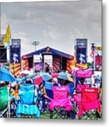 Back Row Seats Metal Print