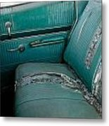 Back Seat Blues  Metal Print