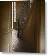 Back Stairway Metal Print