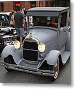 Back To The 50s - Grants Pass Metal Print