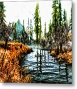 Back To Yesterday Metal Print